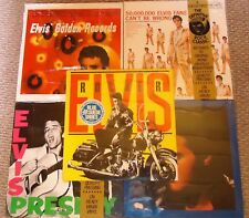 WOW Lot of FIVE SEALED Elvis Presley 1980s Digitally Remastered LPs!