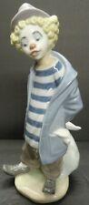 "Vintage Lladro #7602 Little Traveler Height 9"""