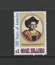 Cook islands 1991 Columbus, 1st Issue UM SG 1254