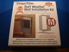 Ruff Weather Designer Series Wall Installation Kit Fits Medium Pet Door NEW