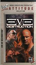 WWE Eve of Destruction VHS Video SEALED Hell Cell Hardy