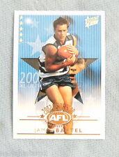 2003  XL ULTRA AFL CARD - 2002 RISING STAR RSN4  JAMES BARTEL, GEELONG