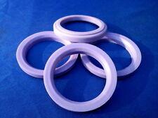 (t42-sl571p - audi) 4 Piezas Anillas de centrado 76,0/57,1 mm lila para llantas de aluminio