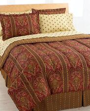 Davenport Reversible 8 Piece Bedding Ensembles King Size Bed Set New!