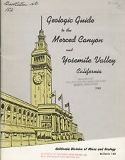 Rare old Yosemite geology report: maps: old sites, mines, Ansel Adams Photos oop