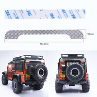 Metal Rear Roof Plate Guard for Land Rover 1/10 RC Traxxas TRX4 Defender D110