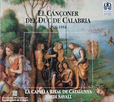 El Cançoner Del Duc De Calabria - Jordi Savall, Audio CD