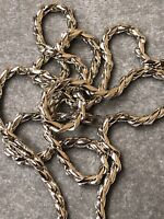 """42"""" OR 36"""" Long 6 mm Men's Women's Rhodium  THICK Simple Rope Chain Necklace"""