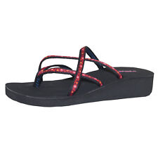 Teva Mandalyn Wedge Ola Chanclas Chancletas de niños Zapatos de niña Sandalia