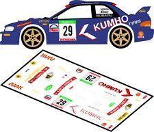 DECALS 1/43 SUBARU IMPREZA WRC #29 - JONES - RALLYE BOHMIA 2003 - MFZ D43082