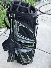 🔥🔥 Nike Xtreme Sport 2-Strap Golf Bag With Stand 8 Way Divider 6 Pockets +🔥🔥