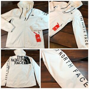 The North Face Cultivation Rain Jacket Size Small Mens White Black