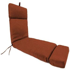 """Chaise Lounge Chair Cushion Outdoor Patio Deep Seat Pad UV Resistant 22x72"""" Tan"""