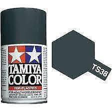 Bombe de peinture Tamiya gris acier brillant TS-38