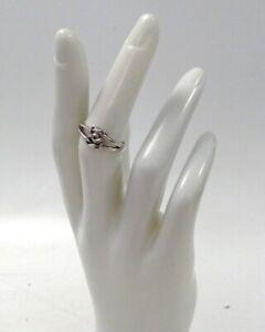 Hallmarked Sterling Silver Ring Kit Heath Celtic Love Knot Interlocking Hearts