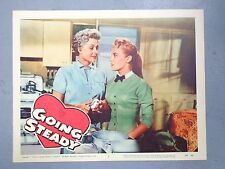 Going Steady lobby card movie poster vtg 1958 Molly bee Alan Reed Comedy