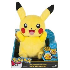 TOMY Pokemon Large 25cm Talking Plush My Friend Pikachu