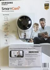 Samsung SNH-V6431BN  Home Smart Cam Full HD Wifi 1080p IP Camera w/microSD Slot
