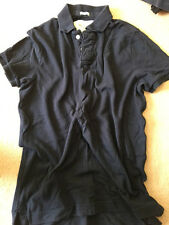 Abercrombie Fitch mens polo usually £45 blue stag logo XL extra large