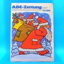 DDR ABC-Zeitung 24/1989 Zeitschrift für Junge Pioniere Kalender 1990 Lindemann