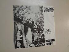 "WOODEN HORSE: Wooden Horses-Typewriter & Guitar-U.K. 7"" 73 York SYK 543 Demo PSL"