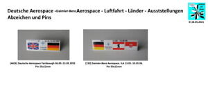 Deutsche / Daimler-Benz Aerospace - Luftfahrt Pins 1990er Aussuchen