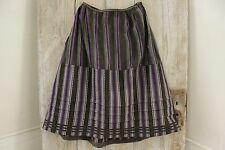 Peasant Skirt Antique French workwear work wear Chore woman's garment wool old