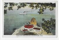 Sugar Loaf Casino and Rock, Catalina Island, California Postcard