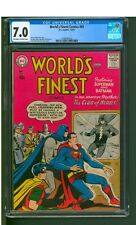 WORLD'S FINEST #89  CGC  7.0  FN/VF  NICE OW/W PAGES!   STRICTLY GRADED!