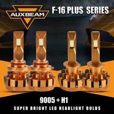 AUXBEAM 9005+H1 Combo for Nissan Altima 02-06 Hi Lo Beam LED Headlight F-16 Plus