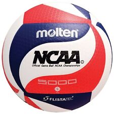 Molten FLISTATEC Volleyball NCAA Official - Red, White, Blue