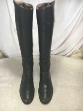 Custom Made DEHNER'S Equestrian Dress Riding Boots Made in USA 7-7.5 EXCELLENT