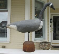 Canada Goose Decoy - Stitched Canvas  C - 1930 - A Working Decoy