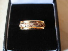 Handmade White Gold Band Precious Metal Rings without Stones