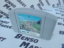 EIKO NO SAINT ANDREW GOLF NINTENDO 64 N64 BIT IMPORT JP JAP GIAPPONESE CARTUCCIA