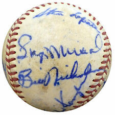 1950 Cardinals Phillies Autographed Signed Baseball 19 Sigs Stan Musial A52636