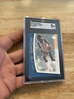 Michael Jordan SGC 9 MINT 💎 Upper Deck Collector Card MJ Last Dance 2001 #MJ-11