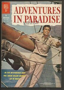 1962 Dell Four Color #1301 Adventures in Paradise VF+