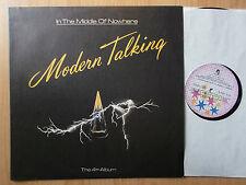 MODERN TALKING BULGARIA BALKANTON LP: IN THE MIDDLE OF NOWHERE/4th ALBUM/BUNT