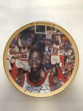 "Michael Jordan Plate ""1993 Champions"" MJ Collection Upper Deck Bradford Exchange"