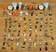 Large Star Wars 100 Lot Micro Machines Action Fleet Ships Vehicles w/ Stands