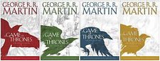 Game of Thrones HARDCOVER GRAPHIC NOVELS Collection 1-4  R R Martin, Abraham