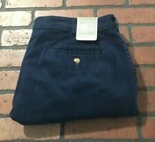 Saddlebred Casual Comfortable Classic Harbor Navy Shorts Men's Size 40W