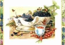 Marjolein Bastin Sympathy From A Friend Berries & Fruit Hallmark Card