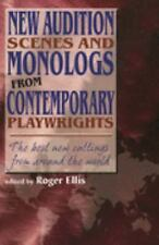 New Audition Scenes And Monologs From Contemporary Playwrights: The Be-ExLibrary