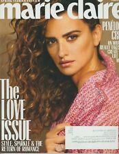 Marie Claire Magazine February 2019 THE LOVE ISSUE Penélope Cruz