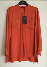 Marks and Spencer Women's Long Sleeve Sleeve Mandarin Collar Tops & Shirts