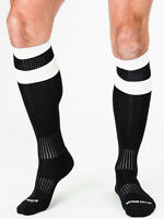 barcode Berlin Football Socks schwarz/weiß 90143/101 gay sexy SALE BLITZVERSAND
