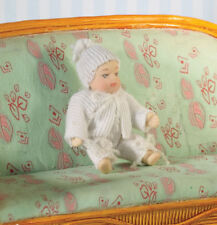 Baby Lily-Mae Doll, Dolls House Miniature Child Doll, 1.12 Scale