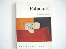 Poliakoff by Michel Ragon, excellent condition, w/12 color plates 1958 inv400